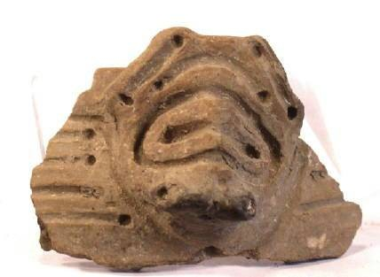 Ancient Coins - Taino Pottery Odorno or Head - AD600-1400