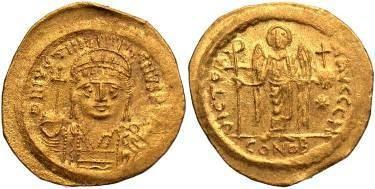 Ancient Coins - Justinian I AD 527-565, AV Solidus