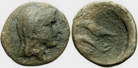 Ancient Coins - Istros, Black Sea Area, 4th - 2nd cent BC AE17