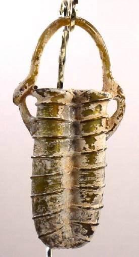 Ancient Coins - Glass Double Unguentarium, Roman