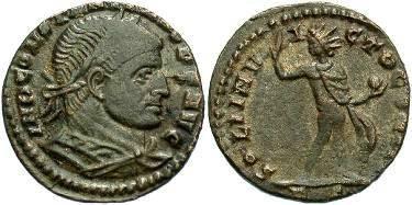 Ancient Coins - Constantine I 307-337 A.D. Follis