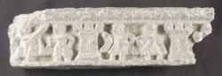 Ancient Coins - Gandharan Schist Frieze of Figures, circa 2nd - 3rd Century
