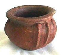 Ancient Coins - Precolumbian Terra Cotta Bowl