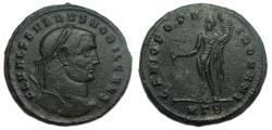 Ancient Coins - Severus II AE Follis Heraclea Mint
