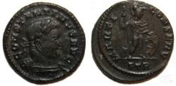 Ancient Coins - Constantine Half Follis : MARTI CONSERVAT : Scarce
