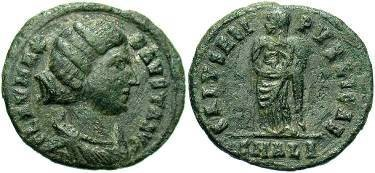 Ancient Coins - Fausta, wife of Constantine the Great, AE3