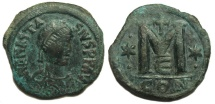 Ancient Coins - Anastasius Follis AD491-518