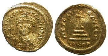 Ancient Coins - Tiberius II Constantine AV Solidus