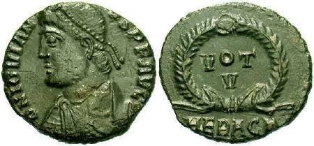 Ancient Coins - Jovian AD 363-364, AE3