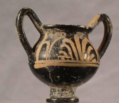 Ancient Coins - Miniature Votive Cup, ca. 350-300BC