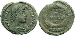 Ancient Coins - Jovian AD 363-364  AE3