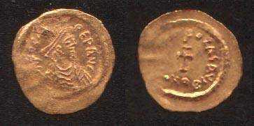 Ancient Coins - Phocas AD602-610 Gold Tremissis