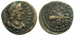 """Ancient Coins - Hierapolis Phrygia : """"Homonoia"""" Issue with Ephesus : Clasped Hands"""