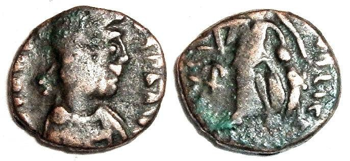 Ancient Coins - Scarce AE4 of Johannes