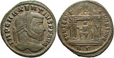 Ancient Coins - Maxentius AD 306-312