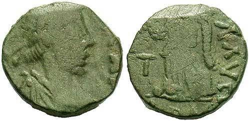 Ancient Coins - Valentinian III AD 425-455, AE4