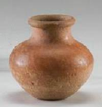 Ancient Coins - Terracotta Jar - Egypt Early Middle Kingdom