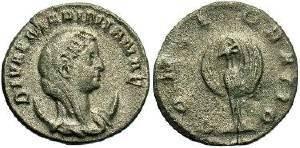 Ancient Coins - Mariniana (wife of Valerian I) AD 253-260, AR Antoninianus