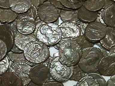 Ancient Coins - Late Roman AE3/4's