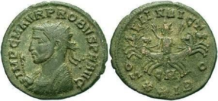 Ancient Coins -  Probus AD 276-282 AE Antoninianus