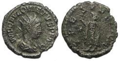 Ancient Coins - Quietus Antoninianus : SPES PVBLICA