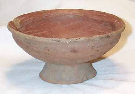 Ancient Coins - Pottery Bowl