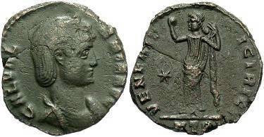 Ancient Coins - Galeria Valeria, wife of Galerius AE Follis