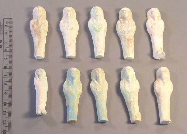 Ancient Coins - Ushabti, Late Period to Ptolemaic