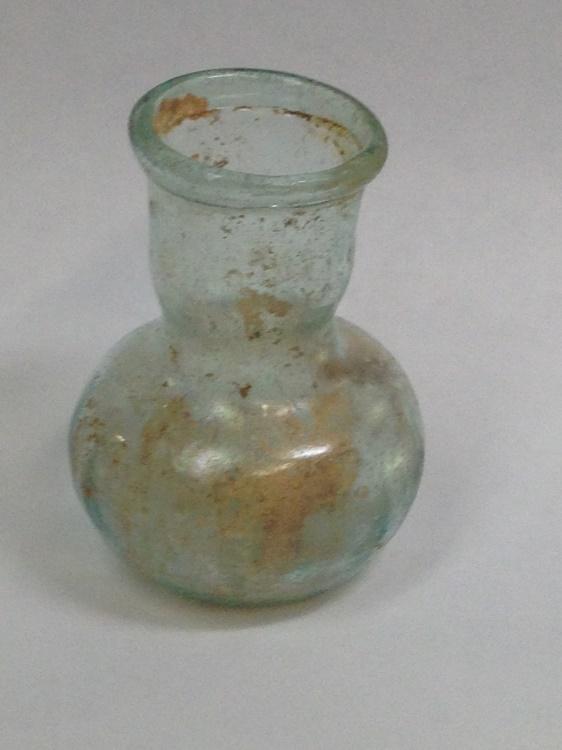 Ancient Coins - Glass Bottle, Roman