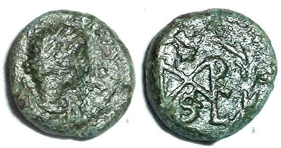 Ancient Coins - Marcian monogram 2