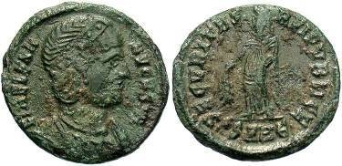 Ancient Coins - Helena, wife of Constantine the Great, AE3