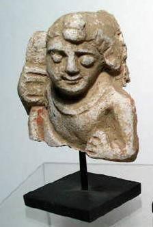 Ancient Coins - Ghandaran Stucco Bust