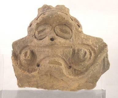 Ancient Coins - Taino Pottery Head