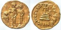 Ancient Coins - Heraclius, 610-641 AD, AU Solidus