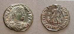 Ancient Coins - Valentinian I  AD 364-375, AE3