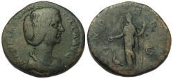 Ancient Coins - Manlia Scantilla Sestertius
