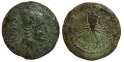 Ancient Coins - Valentia Spain : Roma / Rayed Cornucopia