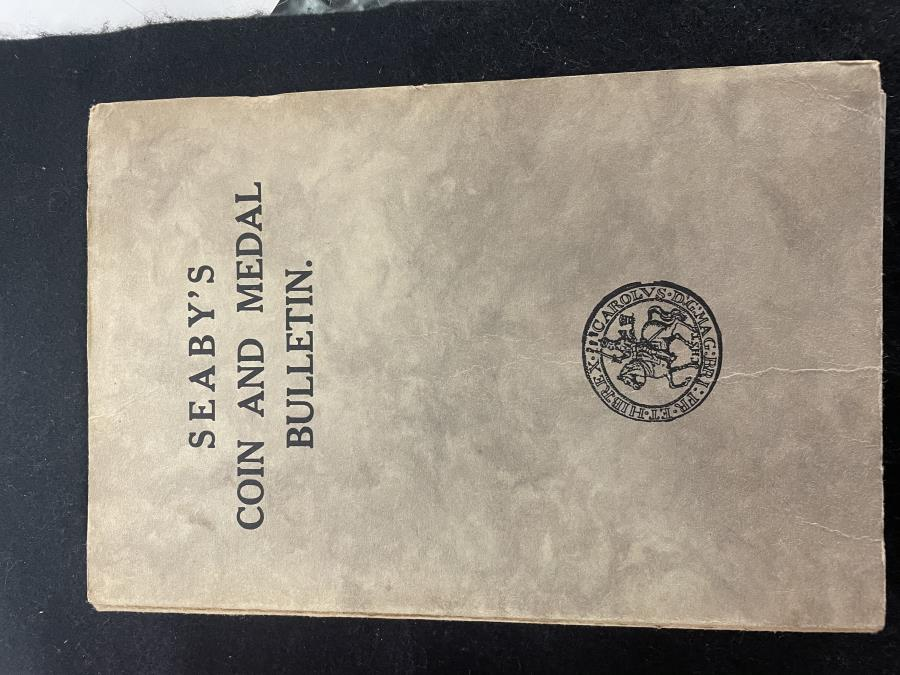 Ancient Coins - Seaby: Coin and Medal Bulleten 1958 All 12 volumes bound