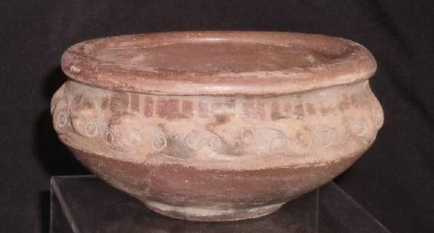 Ancient Coins - Terracotta bowl