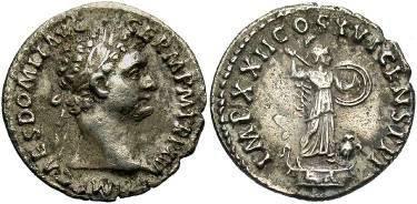Ancient Coins - Domitian, AD81-96, AR Denarius