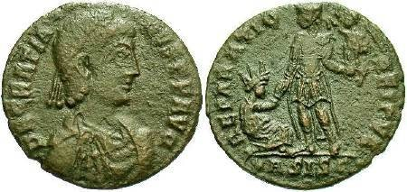 Ancient Coins - Gratian AD367-383, AE2