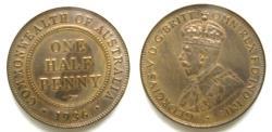 World Coins - Australia 1936 1/2 Penny