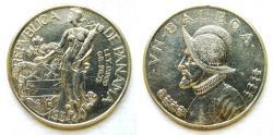 World Coins - Panama 1934 Balboa  Mintage: 225,000