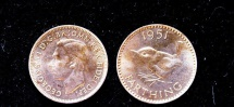 World Coins - Great Britain 1951 Proof Farthing
