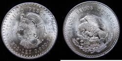 World Coins - Mexico 1948-Mo 5 Pesos.