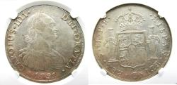 "World Coins - Bolivia, Potosi 8 Reales, 1791-PR, NGC-58 ""finest known in NGC census"""
