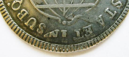 World Coins - Brazil 1816-B 960 Reis overstruck on
