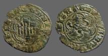 Ancient Coins - Enrique III billon 23mm blanca (2 Cornados)