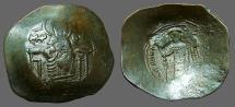 Ancient Coins - Manuel aspron trachy 28mm. Virgin / Manuel stg.