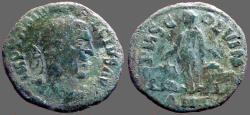 Ancient Coins - Trajan Decius AE27 Moesia Inferior, Viminacium.  Bull & Lion